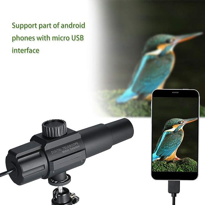 Amazon com: USB Digital Telescope Monocular 2MP 70X Zooming