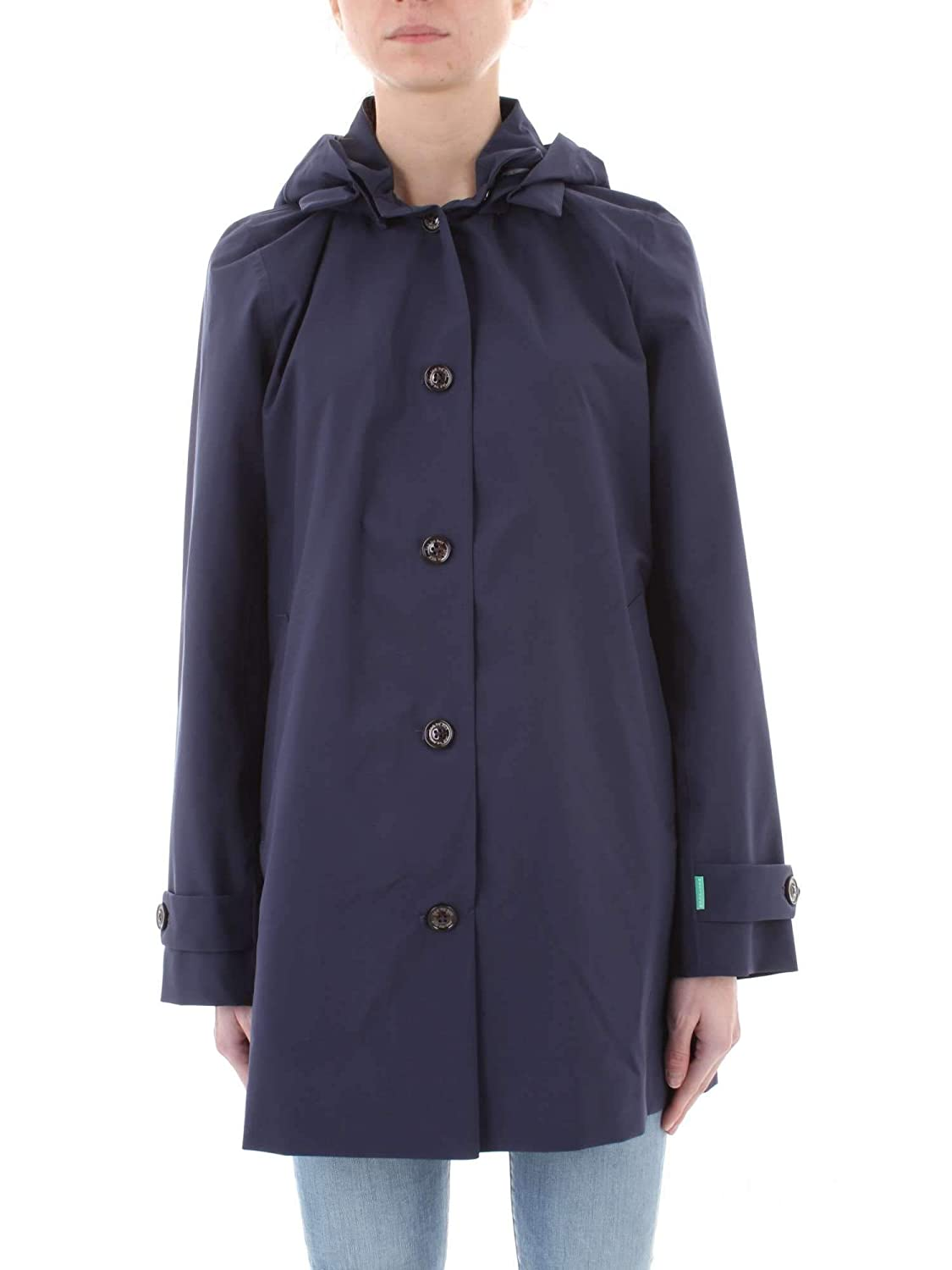 SAVE THE DUCK Cappotto Donna MOD D4225WGRIN8 Blu Navy