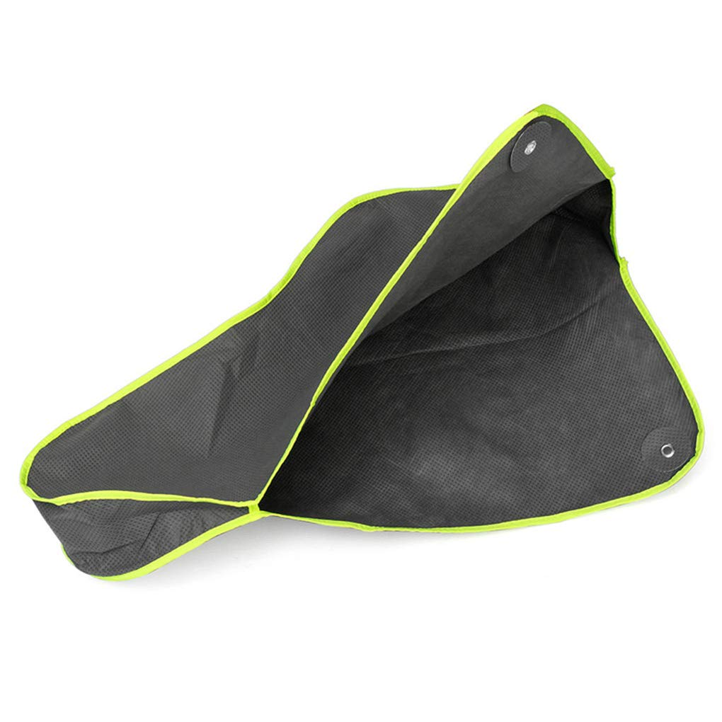 Cdrox Universal Waterproof Caravan Towing Hitch Cover Trailer Rain Snow Dustproof UV Resistant+1.2M Bundle Rope