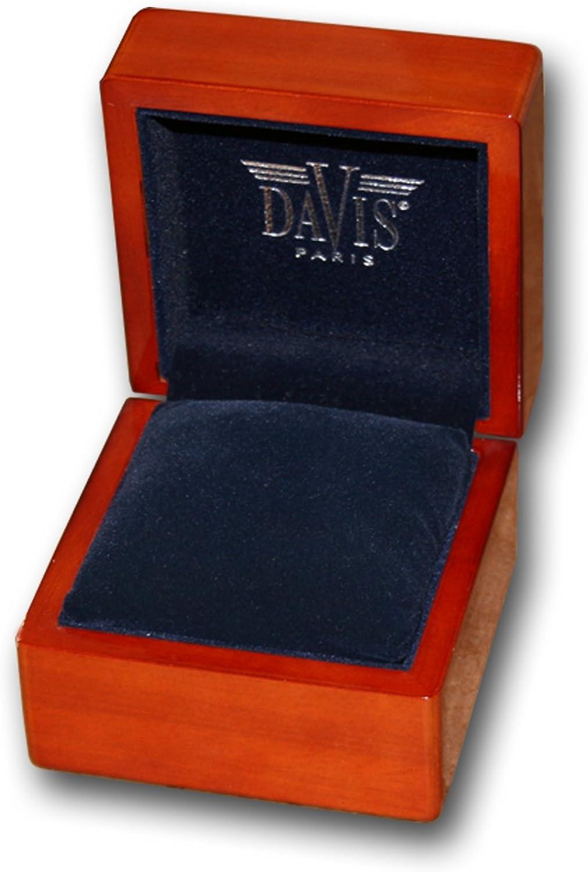Davis - Montre Squelette Homme Mouvement Mecanique Bracelet Mesh Maille Milanaise Acier Or Jaune