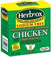 Herb-Ox Bouillon Chicken Instant Broth and Seasoning, 1.2 oz, 8 Count (Pack of 1)