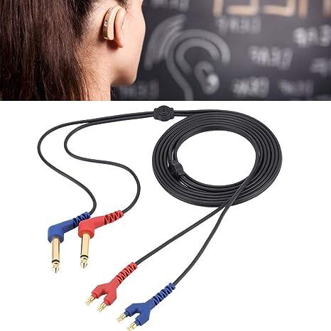 Amazon.com : Audiometer Headset Cable Audiometer Headphone ... on