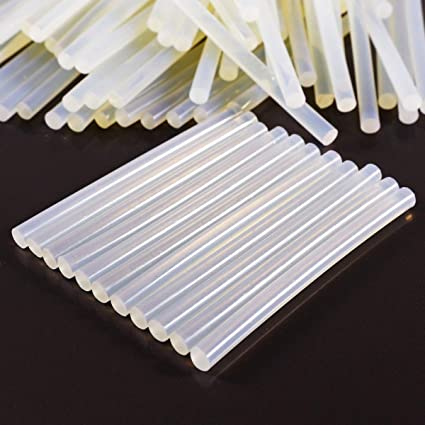 /Bar Fine/ Hot-Melt Adhesive Glue 100/mm./ /Blister Pack of 12 /Color Transparent/