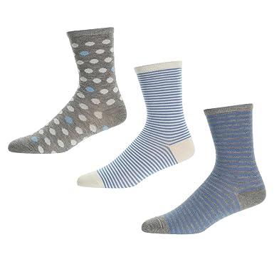 62c63add44 Pepe Jeans Women s 3 Pack Sock Stripe Spotty Tasha  Amazon.co.uk ...