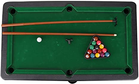 VGEBY1 Mesa de Billar, Mini Mesa de Billar de 5 cm y Juego de Billar Juegos de Billar en casa para Padres e Hijos Juguete de interacción: Amazon.es: Juguetes y juegos