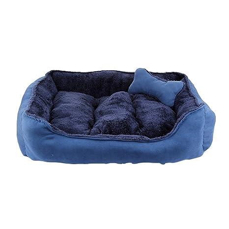 Cama para Perros De Cuatro Estaciones Universal Extraíble Y Lavable para Perros Pequeños Y Medianos,