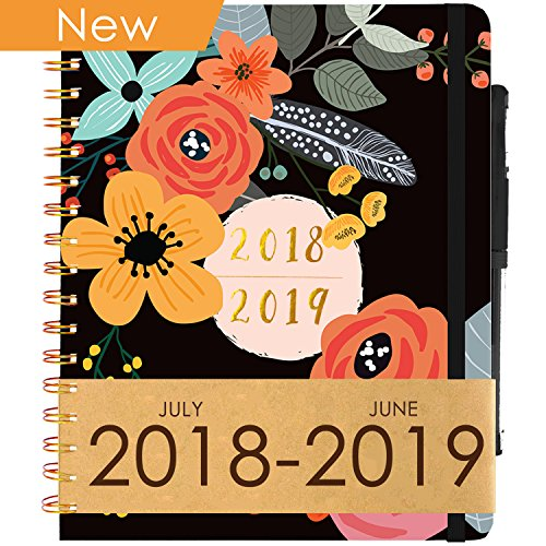 Planner 2018-2019 Academic Year (Dated Jul 18' - Jun 19') ~ Purse-Size 9