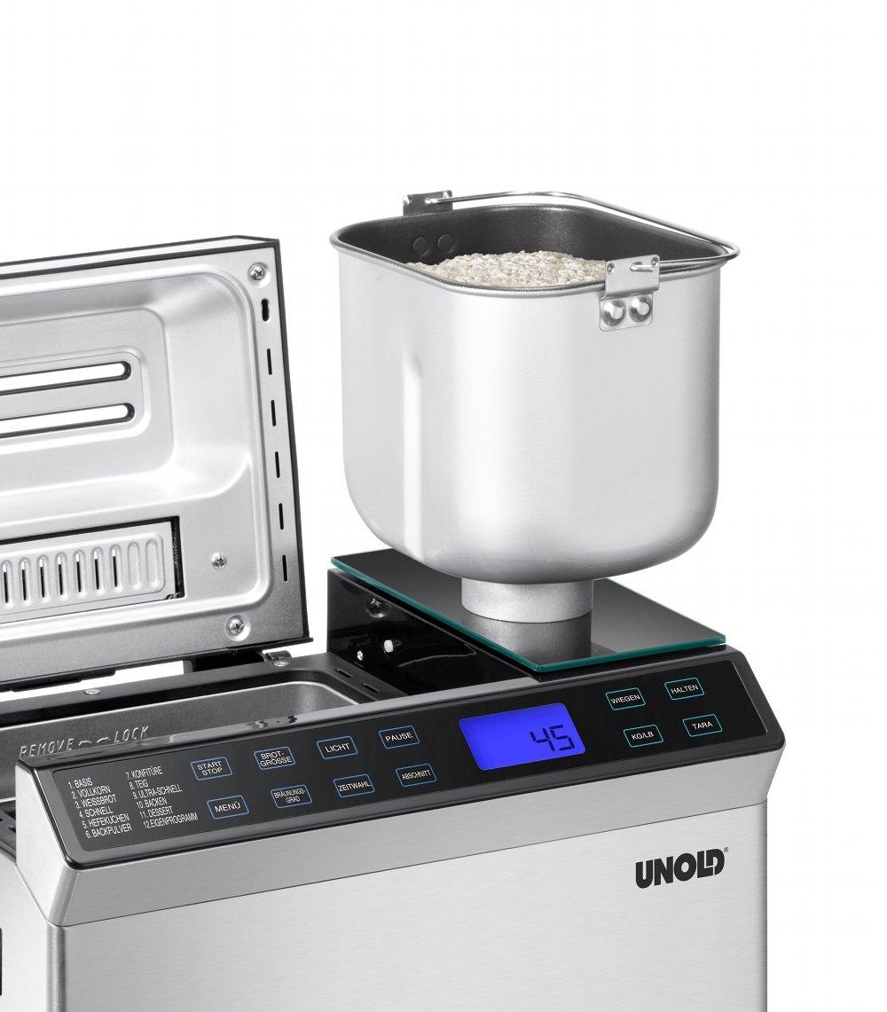 Unold Skala - Máquina de pan, 615 W: Amazon.es: Hogar