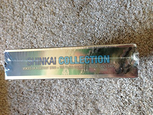 SHINKAI COLLECTION THE PLACE PROMISED IN OUR EARLY DAYS & VOICES OF A DISTANT STAR