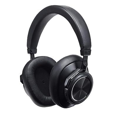 Bluedio T6S Auricular Bluetooth 5.0 con micrófono, cancelación de Ruido y Control de Voz Servicio