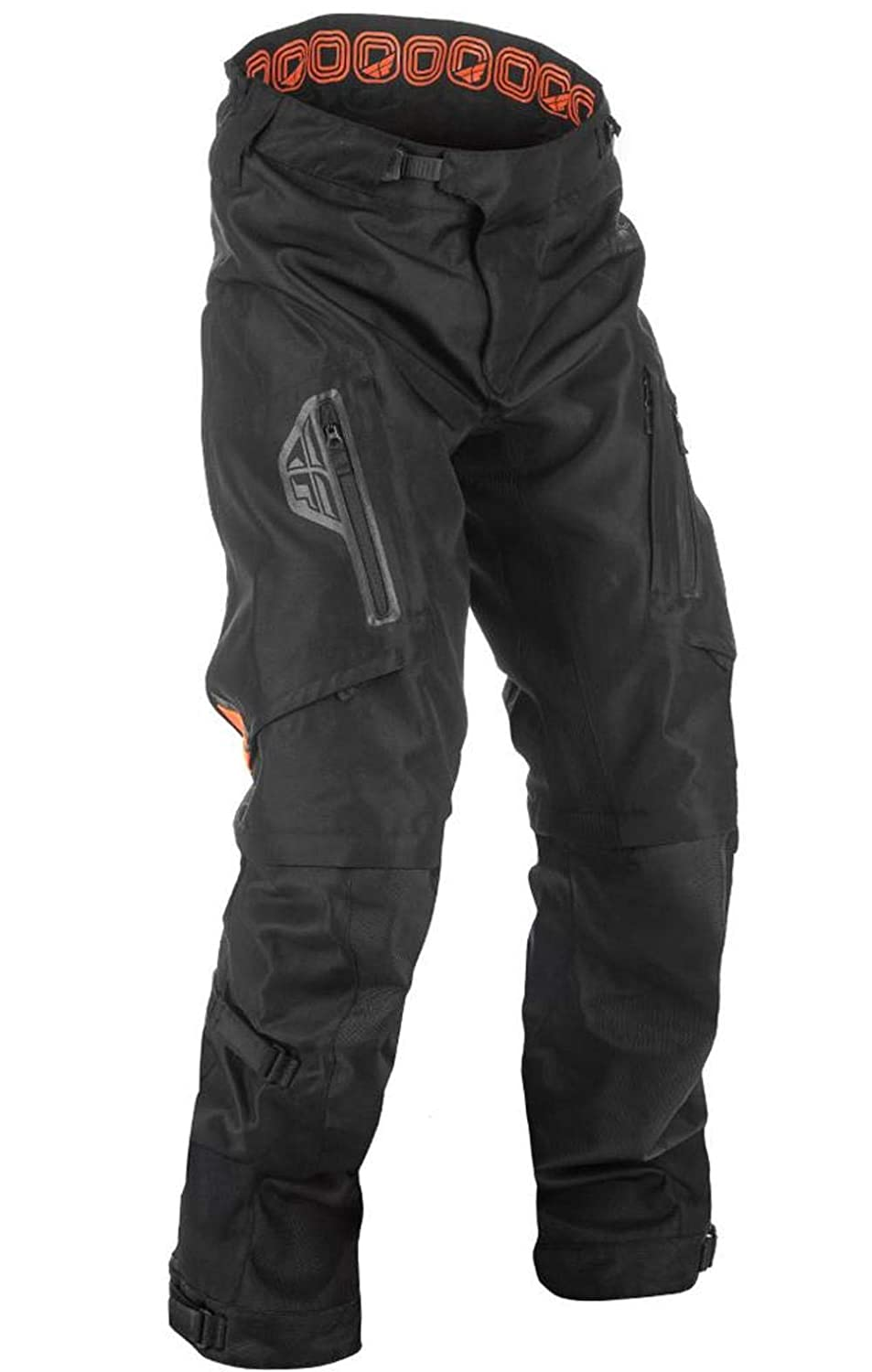 Fly Racing Mens Patrol Over Boot Pants Black//Gray, Size 38