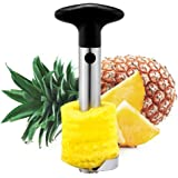 Huixinda Stainless Steel Easy Pineapple Peeler Corer Slicer and De-corer