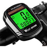Newace Bike Speedometer Wireless Bicycle Computer Waterproof Odometer,Backlight for Visibility at Night, Auto On/Off and…