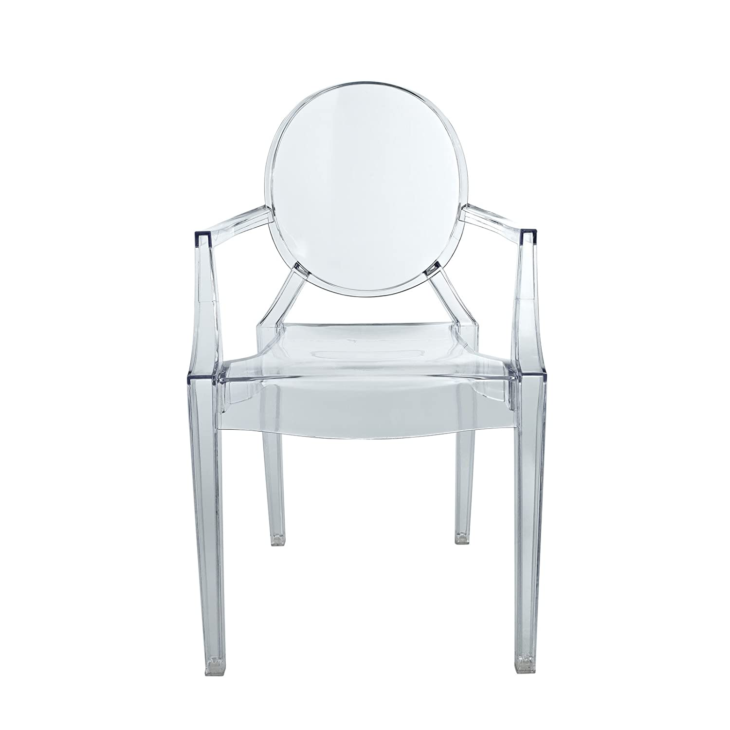 Amazon Modway Miniature Casper Novelty Chair in Clear