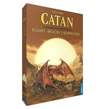 Giochi Uniti gu555 - Catan: Tesori, Dragones y scopritori ...