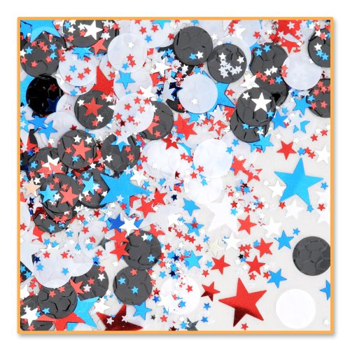 Soccer Star Confetti (Pack of 96) by Beistle