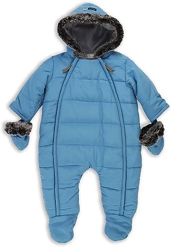 The Essential One - Bebé niño - Traje de Esquiar de Nieve - Azul ...