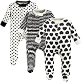 Touched by Nature Baby Organic Cotton Sleep and Play, Heart, 0-3 Months (3M)