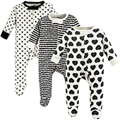 Touched by Nature organic cotton sleep and play are super soft and cozy for your little one. Made with organic cotton, these sleepers are very gentle on your baby's skin. Zipper closures for easy dressing along with a zipper protector by baby...