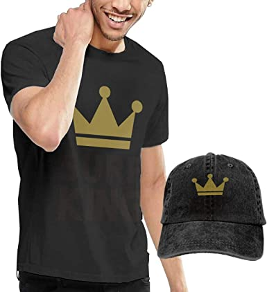 Baostic Camisetas y Tops Hombre Polos y Camisas, Surf King Fashion Mens T-Shirt and Hats Youth & Adult T-Shirts: Amazon.es: Ropa y accesorios