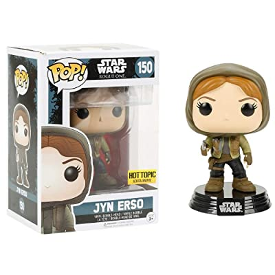 Funko Pop! Star Wars Rogue One Jyn Erso #150 (Hot Topic Exclusive): Toys & Games