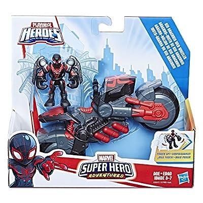 Playskool Heroes Marvel Super Hero Adventures Kid Arachnid Web Wheeler