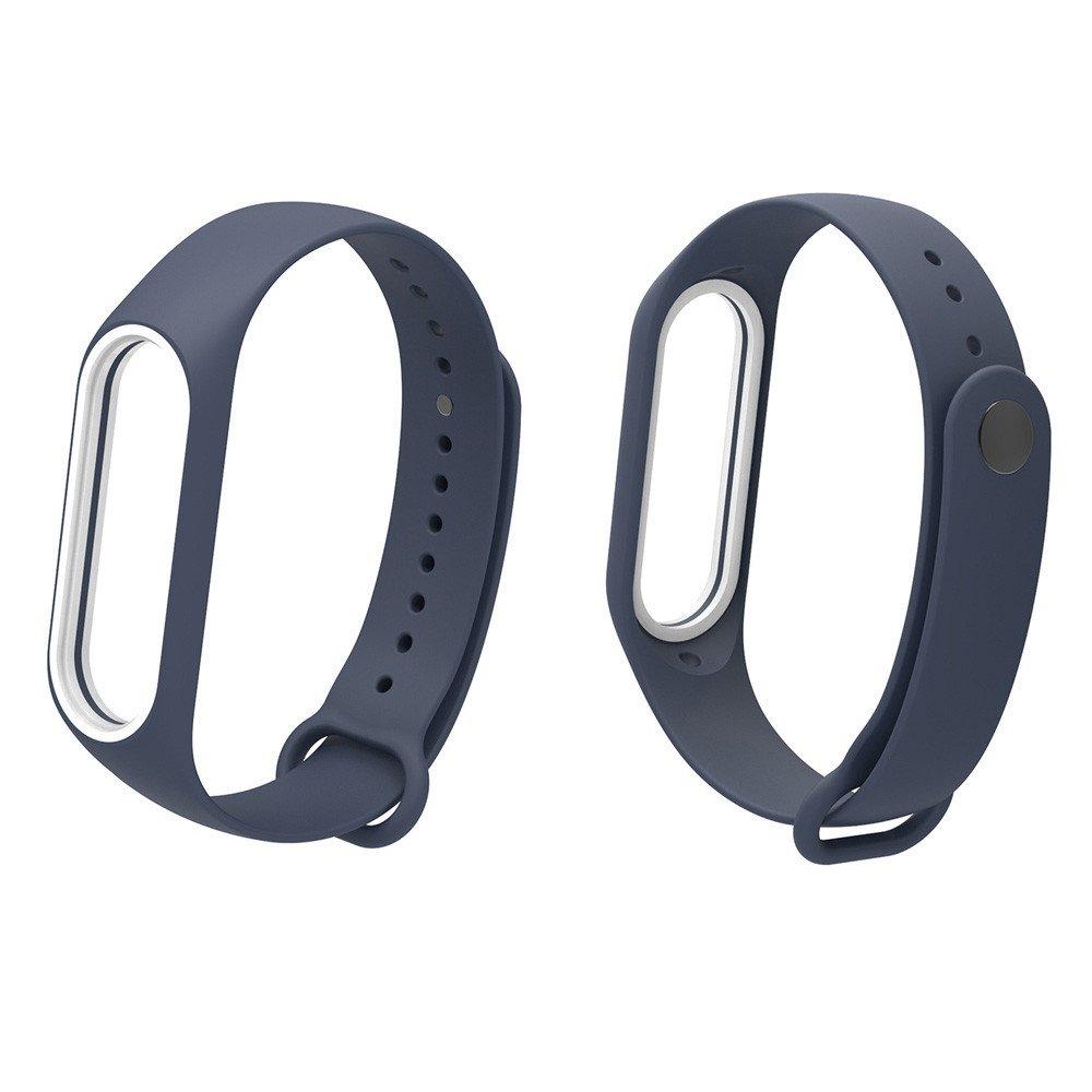 Fullfun Bracelet for Xiaomi Mi Band 3 Sport Strap Watch Wrist Miband 3 Strap (Navy)