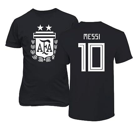 b3de7622c8a Tcamp Argentina 2018 National Soccer  10 Lionel MESSI World Championship Men s  T-Shirt (