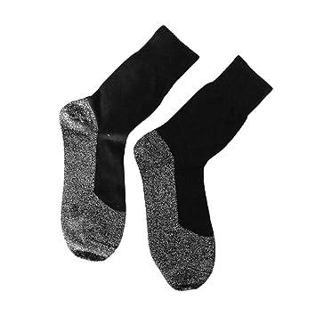 ulable 1 par/Set 35 grados - Fibras calcetines invierno mantener los pies calientes calcetines: Amazon.es: Hogar