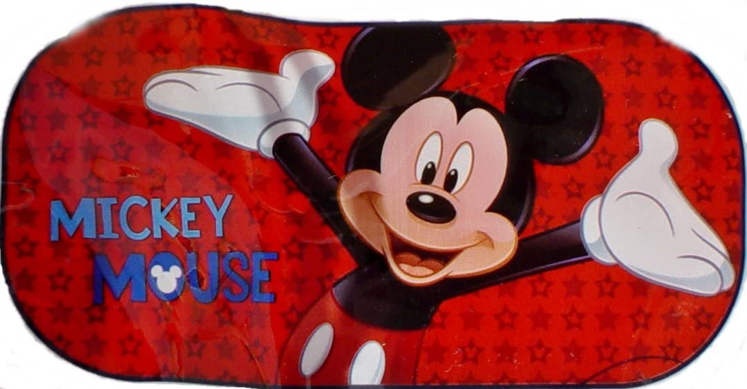 01/Mickey Mouse Pare-soleil auto arri/ère Sambros Car-501