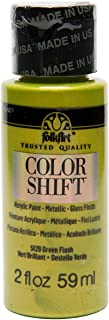 product image for FolkArt Color Shift Acrylic Paint in Assorted Colors (2 ounce), Green Flash