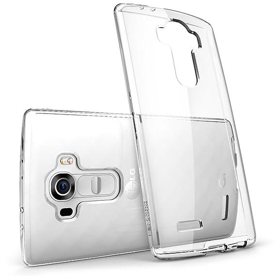 promo code 67027 a568c i-Blason Halo Series Scratch Resistant Bumper Case for LG G4 - Clear  (Anti-Sratch