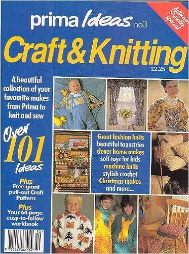 Prima Ideas Magazine Numer 3, Craft, Crochet, Machine & Hand ...