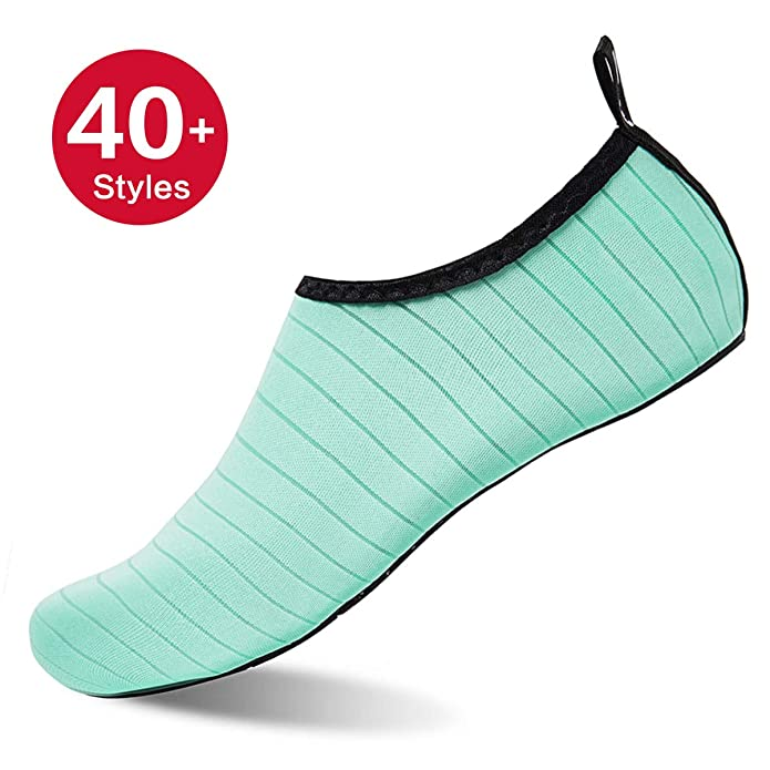 Womens Mens Water Shoes Barefoot Quick-Dry Aqua Socks Beach Swim Surf Yoga Exercise
