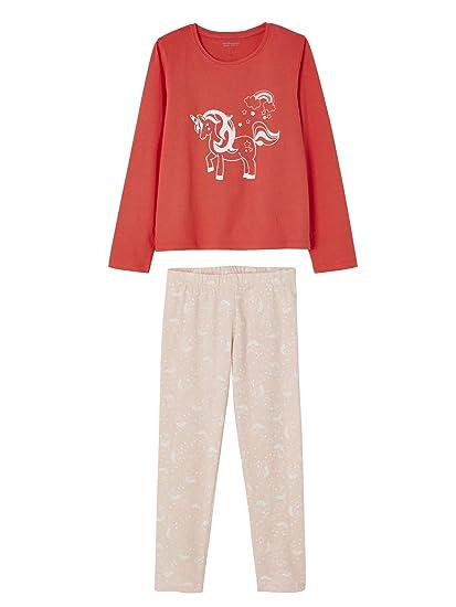 10161af0e62a8 Vertbaudet Lot de 2 Pyjamas Fille combinables LOT Fraise 14 A ...