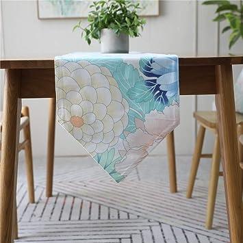 Multi-Table Caminos de Mesa Table Cloth Manteles American Color de la Flor de impresión