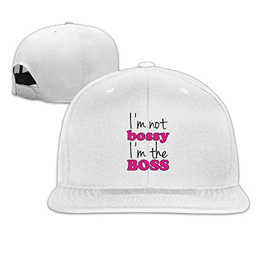 7e92a0d56b6774 Image Unavailable. Image not available for. Color: Unisex Baseball Cap I'm  NOT Bossy ...
