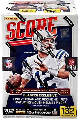 2016-2017 Score NFL Football Trading Cards Retail Factory Sealed Box