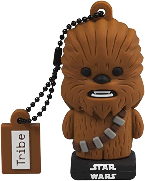 Tribe, Star Wars Chewbacca, 32GB USB Flash Drive, 2.0 Memory Stick Keychain