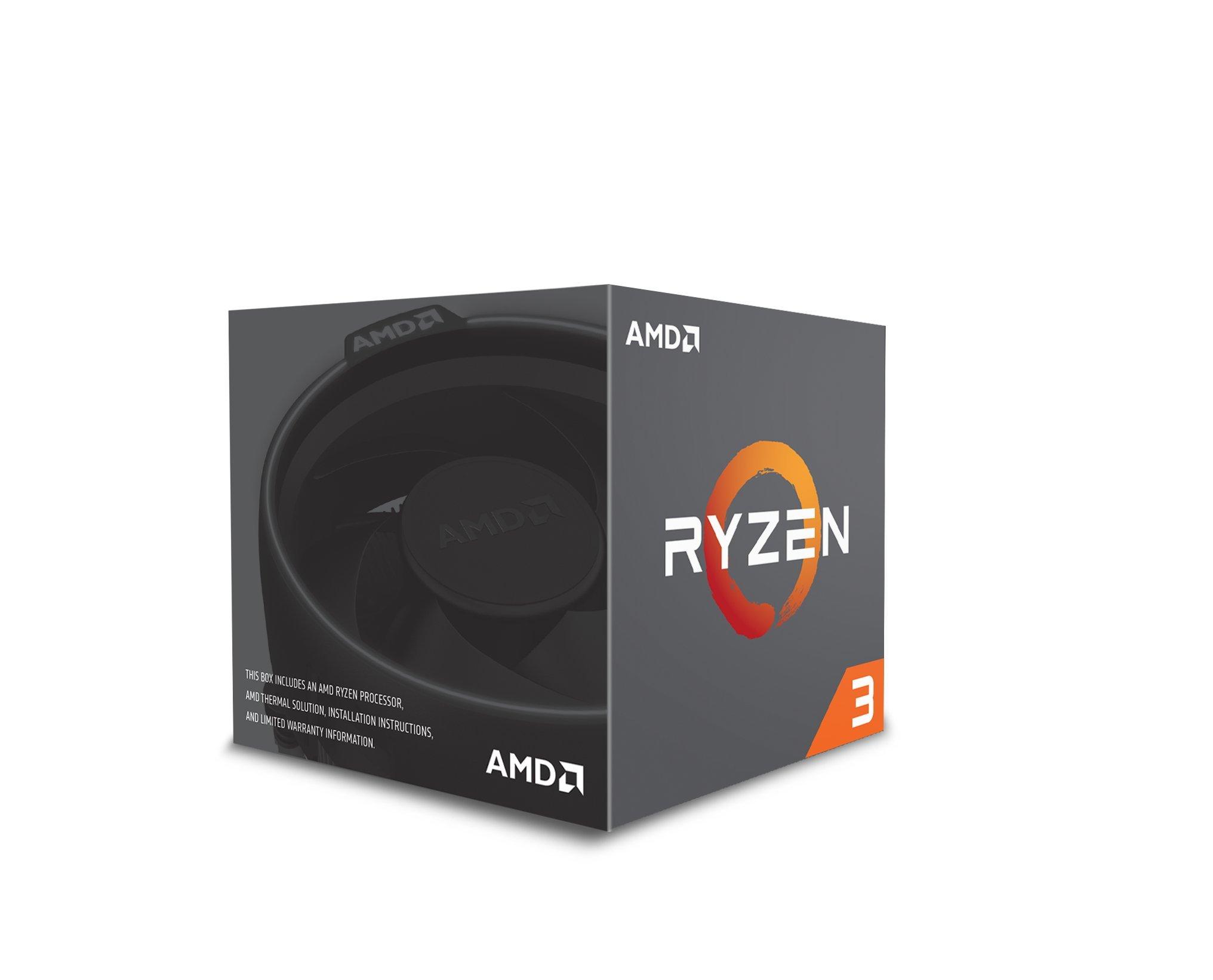 Amd Ryzen 3 1300x Con Wraith Stealth Cooler (yd130xbbaebox)