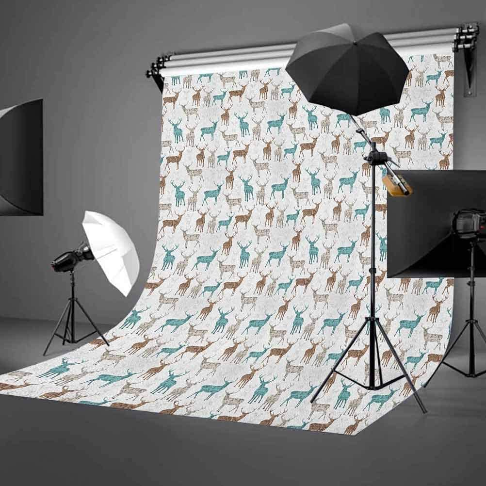 7x10 FT Vinyl Photography Backdrop,Square Pixel Like Mosaic Pattern Simplistic Modern Contemporary Design Illustration Print Background for Selfie Birthday Party Pictures Photo Booth Shoot