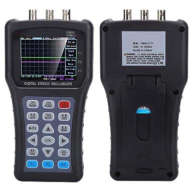 JDS3022A Handheld Digital Oscilloscope 2CH 50 MHz 500MSa//S Générateur de signaux BS