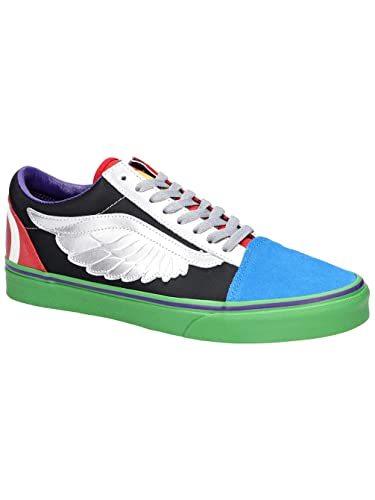 Vans Marvel Avengers Old Skool Sneaker (12 US Women / 10.5 US Men)