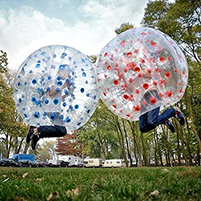 shaofu Inflatable Bumper Ball Dia 4/5 ft (1.2/1.5 m) Bubble Soccer Ball, Human Hamster Ball for Adults/Kids (US Stock) : Sports & Outdoors
