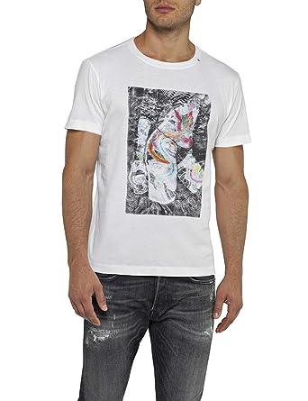 san francisco 18628 0ee86 REPLAY T-Shirt Uomo: Amazon.it: Abbigliamento