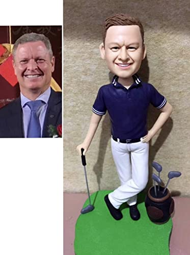 8.6 Custom Baseball Bobblehead Sportsman Figurine Personalized Occupational Gifts Valentines Day Gift Business Gift Father Gift Boyfriend Gift Friends Gifts Based on Your Photos for Christmas Day
