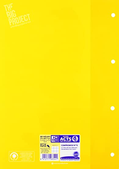 Oxford 100103583 - Recambios (80 hojas A4): Amazon.es: Oficina y papelería