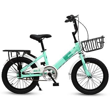JianMeiHome Bicicleta para niños Bicicleta para niños Bicicleta 16/20 Pulgadas Bicicleta para Dos Ruedas 6-12 años Bicicleta para niños con estabilizadores: ...