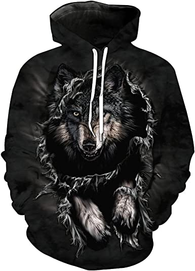 UK Galaxy 3D Graphic Print Couple Hoodie Sweatshirt Jumper Pullover Sweater Tops