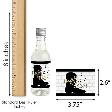 Amazon.com: Nash Bash – Mini pegatinas para botellas de vino ...